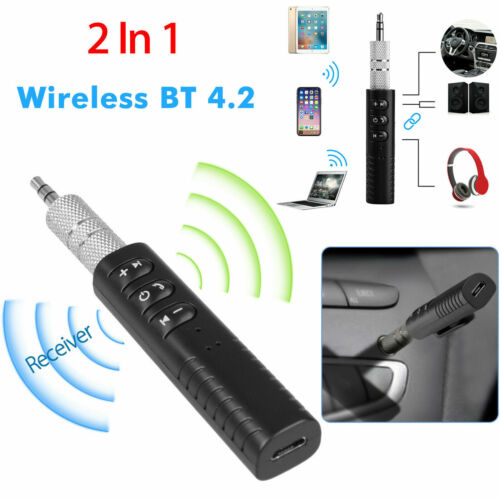 3.5mm Wireless Bluetooth Receiver AUX Audio Stereo Music Hands Free Car Adapter1