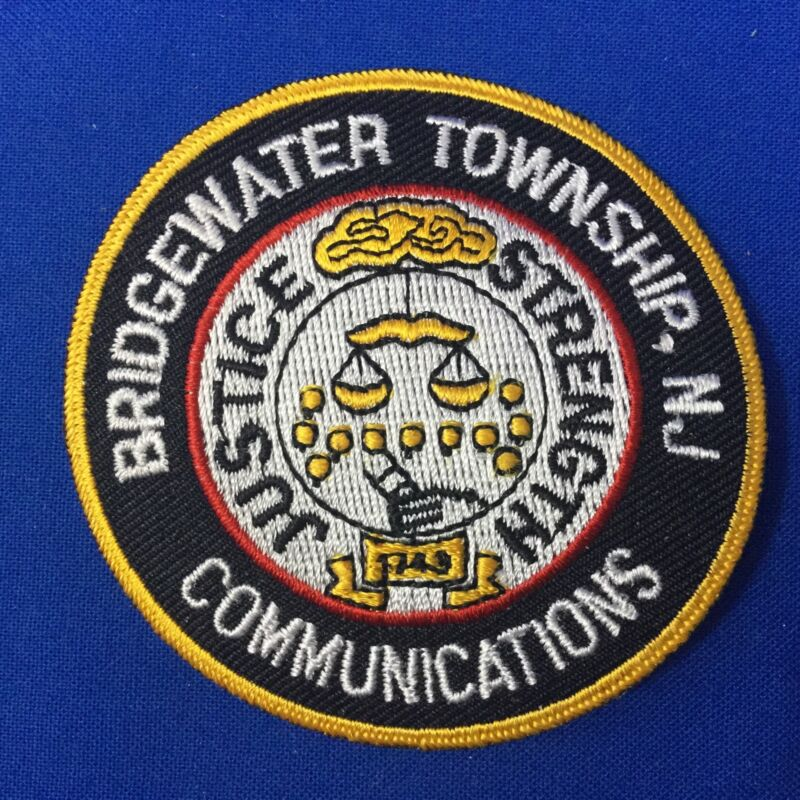 Bridgewater Township N.J. Communications Patch (Dispatcher) FREE SHIPPING