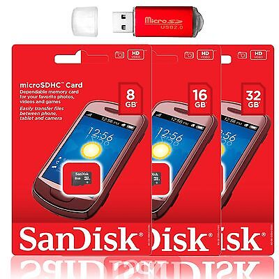 SanDisk Micro SD Card 32GB 16GB 8GB TF Flash memory Card Samsung S9 S8 LG G7 ](samsung 8gb memory card)