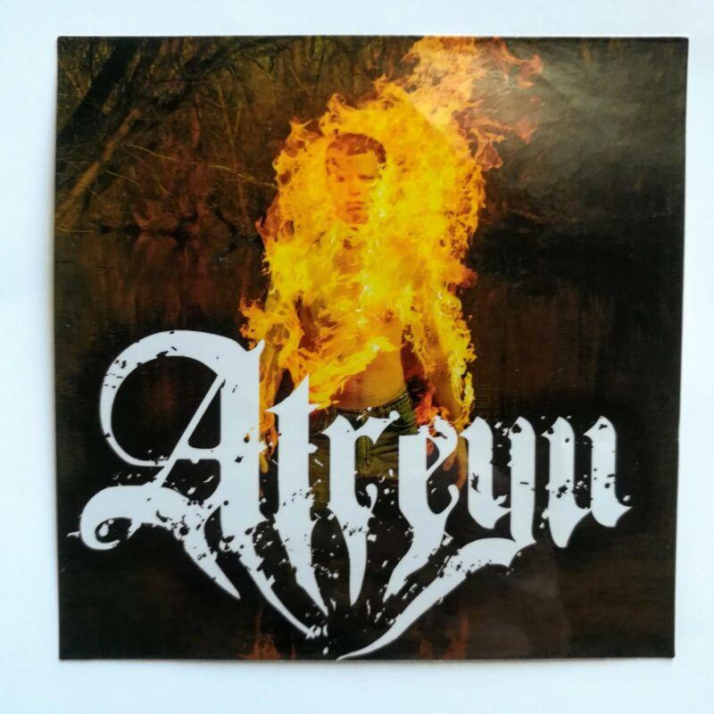 Atreyu Death Grip On Yesterday Promo Sticker 2006 Victory Records Ozzfest