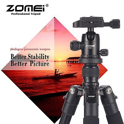 ZOMEI Portable Professional Aluminium Tripod&Ball Head Travel for DSLR Camera