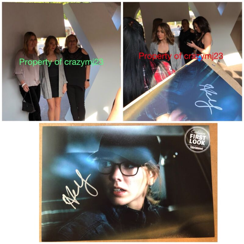 Holly Taylor Signed Paige Jennings Glasses The American Autograph Auto PROOF