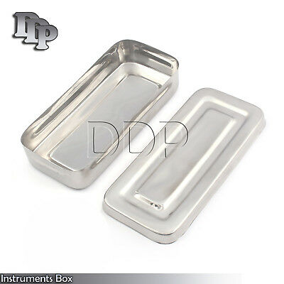 7x3x1.5 Surgical Instruments Box Stainless Steel High Quality