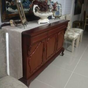 Awesome Cedar Sideboard & Cedar Grandmother Clock $ 2,450 for 2 Pitt Town Hawkesbury Area Preview