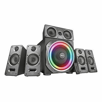Trust GXT 698 Torro 5.1 PC-Lautsprecherset Surround Speaker System RGB 180 Watt