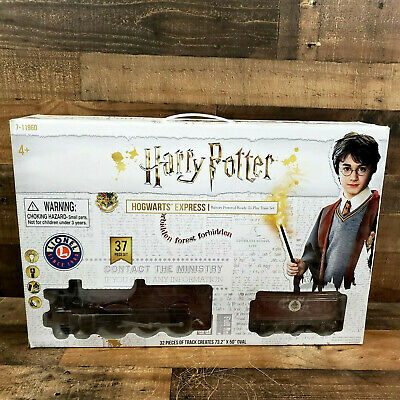 Lionel Harry Potter Hogwarts Express Battery-Powered Ready to Play Train Set NEW
