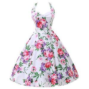 Vintage Cotton Dress 1950s