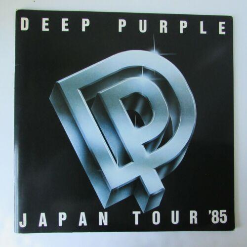 DEEP PURPLE Japan Tour Concert Program Book 1985