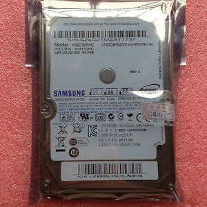 Samsung HM160HC 160GB 160 GB 5400rpm IDE ATA PATA HDD For Laptop 2.5