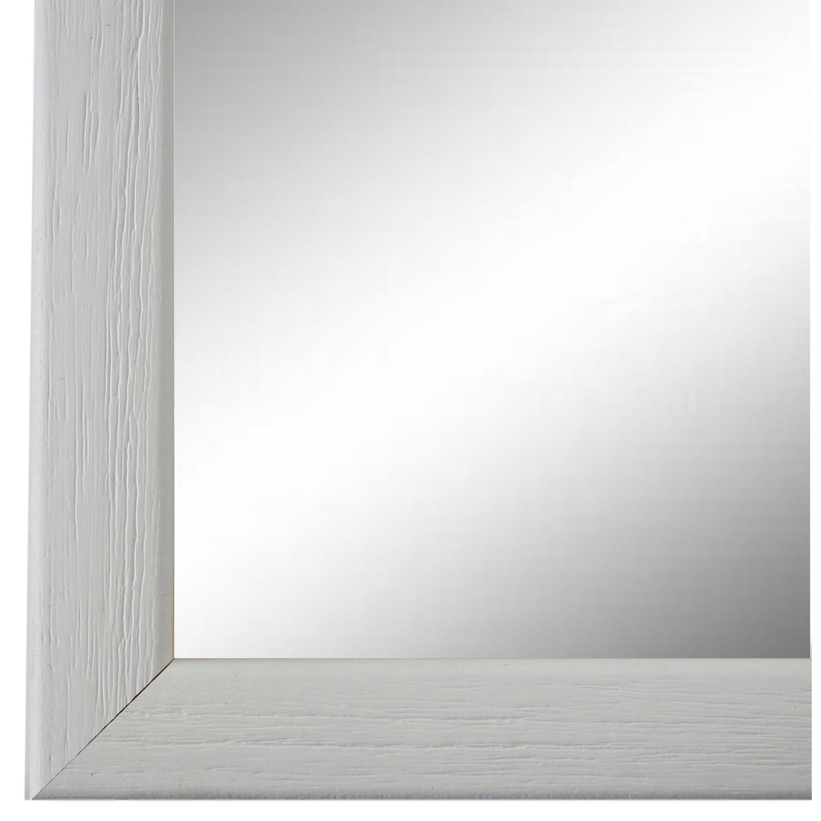 Spiegel Wandspiegel Flurspiegel Bad Weiss Modern Holz Pinerolo 2,3 - NEU