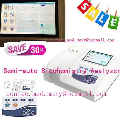Contec Bc300 Semi-auto Biochemistry Analyzerblood Glucoseblood Lipids 3 Modes