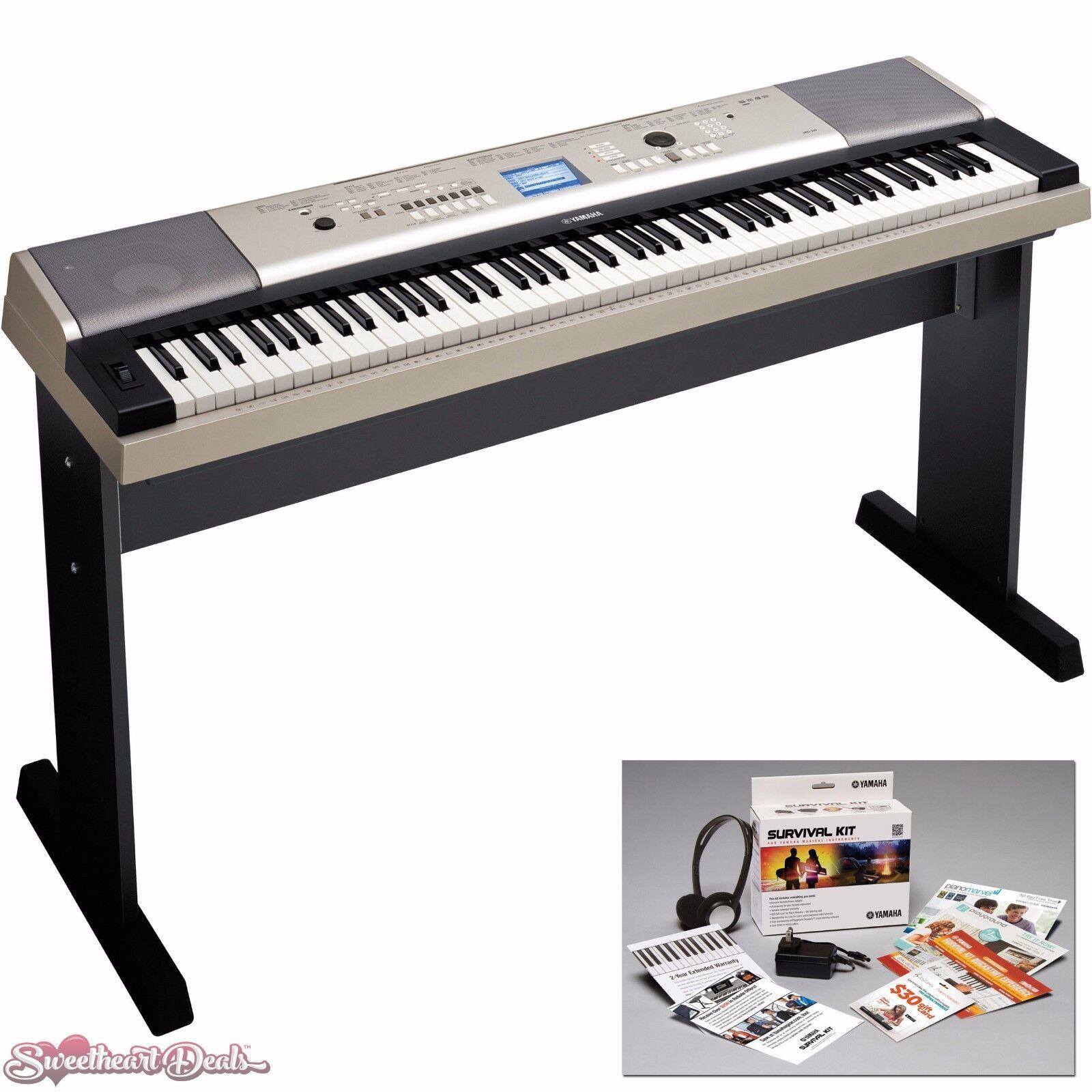 Yamaha YPG-535 88 Key Portable Grand Keyboard + Bonus Access