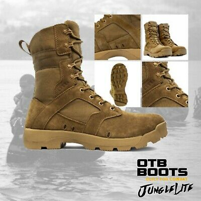 JUNGLELITE COYOTE AR670 OTB Military Tactical Army Desert Combat Boot |5-13| Desert Combat Boots