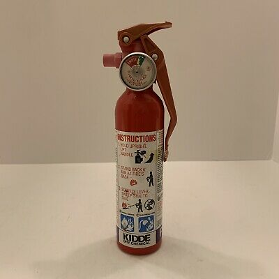 Kidde Dry Chemical Purple K Pk Fire Extinguisher Full Compact 1992