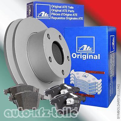 ATE Bremsscheiben + Beläge Opel Corsa B, Astra F, Corsa A, 236mm VORN VOLL 824 Kit