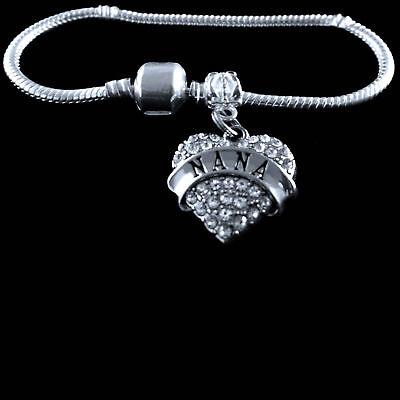 Nana bangle Grandma bracelet Grandmother jewelry Grammy charm bracelet best