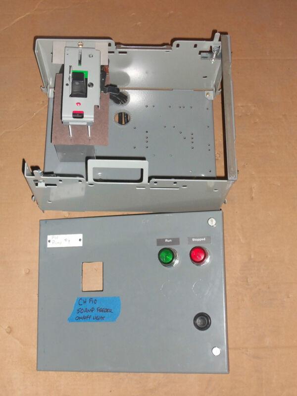 CUTLER HAMMER UNITROL F10 50 AMP BREAKER FEEDER MCCB MCC BUCKET ON OFF