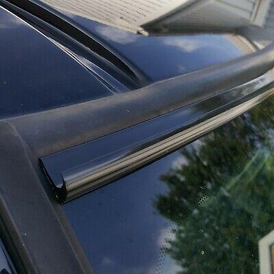 Black Automotive Windshield Rain Gutter Guard Deflector Strip For Dodge Models