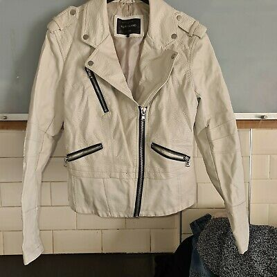 Womens Leather Jacket Size 10