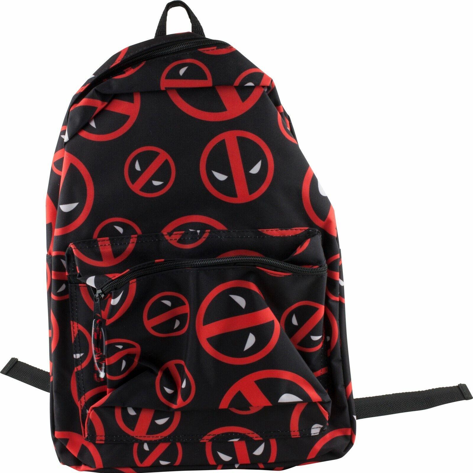Marvel Deadpool School Backpack Book