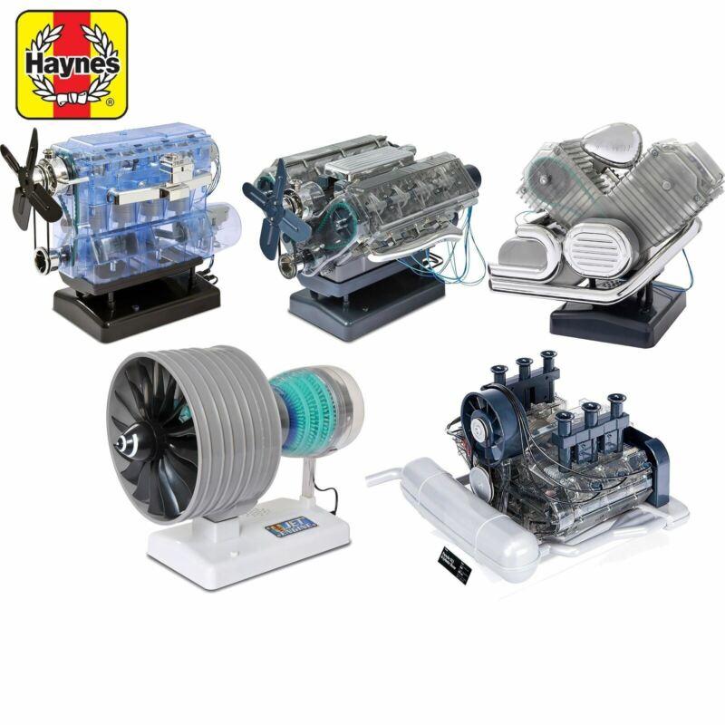 Haynes Build Your Own Engine Model Kit Car Jet Birthday Christmas Gift Present