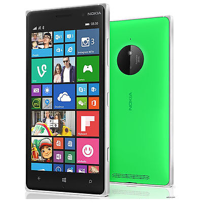 Nokia Lumia 830 AT&T Unlocked GSM 4G LTE Quad-Core Windows 10MP Phone - Green