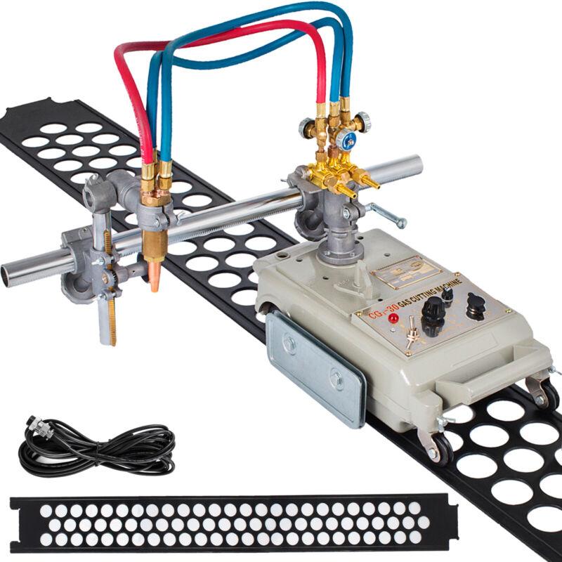 Torch Track Burner CG1-30 Gas/Plasma Cutting Beveling Machine w/ Rail Track 220V