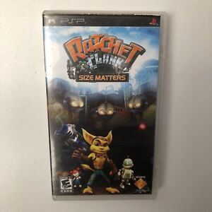 Ratchet and Clank Size Matters PSP Game