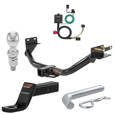 - Curt Class 3 Trailer Hitch Tow Package 2