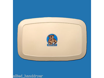 KOALA KARE KB200-00 Baby Changing Station CREAM / SURFACE MOUNT Horizontal