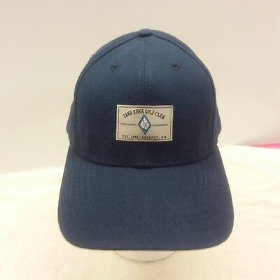 Sand Ridge Golf Club  Chardon  Oh    New Golf Hat   Structured Navy