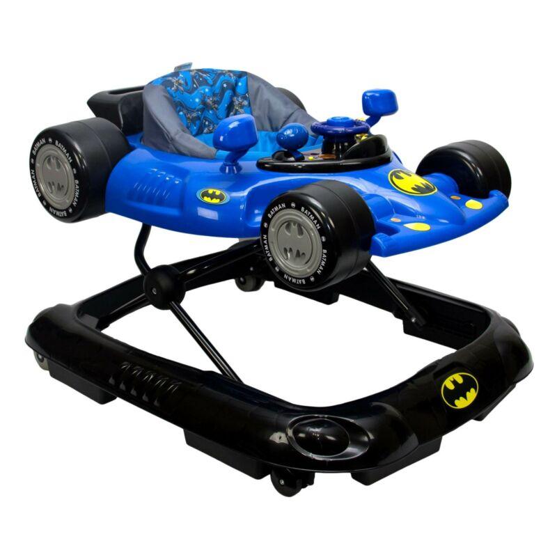 Kids Embrace Batman Baby Activity Station Race Car Walker with Lights & Sounds