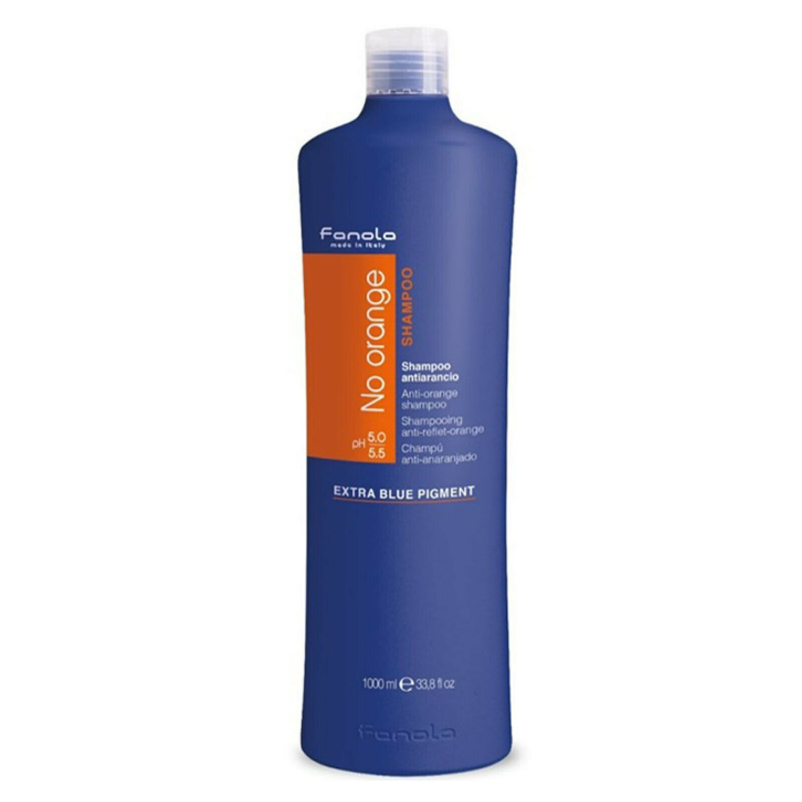 Fanola No Orange Shampoo Farbschutz für coloriertes Haar Anti Orange 1000 ml