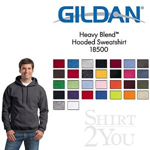 Gildan-Heavy-Blend-Hooded-Sweatshirt-18500-Size-S-5XL-30-different-Colors