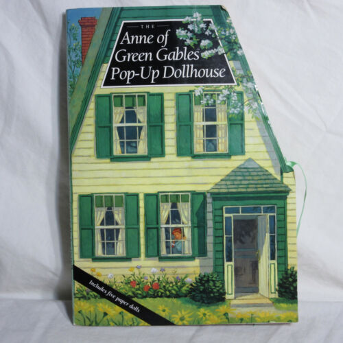 ANNE OF GREEN GABLES POP-UP DOLL HOUSE * 1994 * Paper Dolls