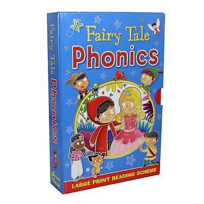 Niños 4 Libro Tapa Dura ' Fairy Cuento Phonics' Navidad Set de...