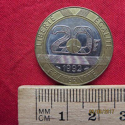 Frankreich - France 20 Francs 1992 - XVII