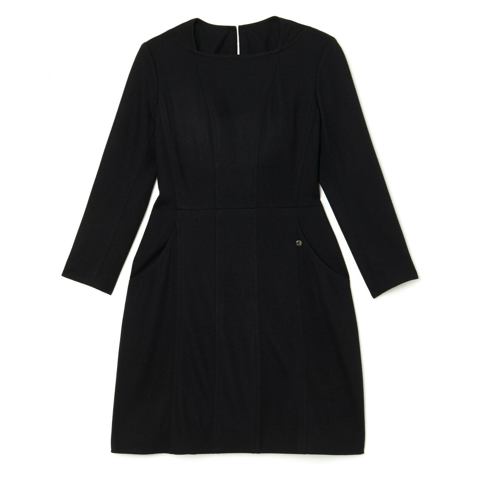 Chanel robe dress fr42 minimal black
