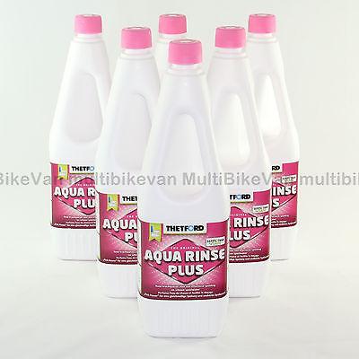 6 x Aqua Kem Rinse =9 Liter Thetford WC Zusatz Spülzus… |