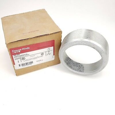 Re109 Explosion-proof Conduit Hub Reducer Bushing 4 To 3-12 Crouse-hinds