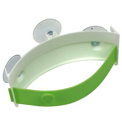Disposal Bag Holder - Food Waste Disposal Bag Holder For Sink Conner Sink Magic Clip Suction Cup Green
