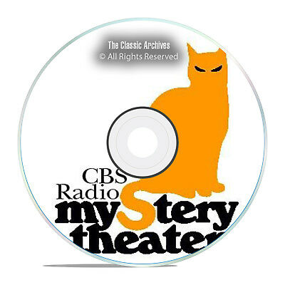 CBS RADIO MYSTERY THEATER, 2061 Old Time Radio Episodes COMPLETE SET OTR DVD G53