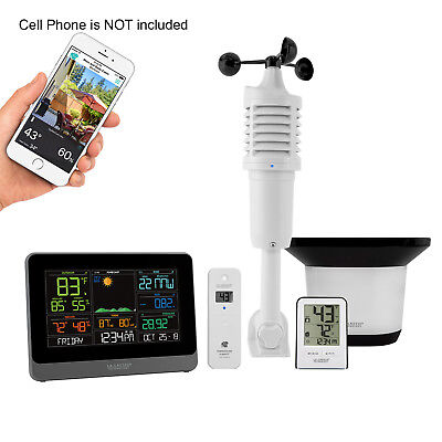 La Crosse 5-in-1 Pro Wireless Out of sorts Station with Remote Monitoring C83100