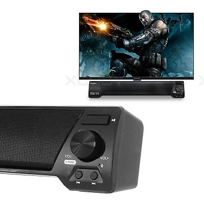 TV Speaker Home Theater Soundbar Bluetooth Wireless Sound Bar Speaker System