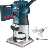 1HP Colt Variable Speed Electronic Palm Router Kit Bosch Tools PR20EVSK-RT