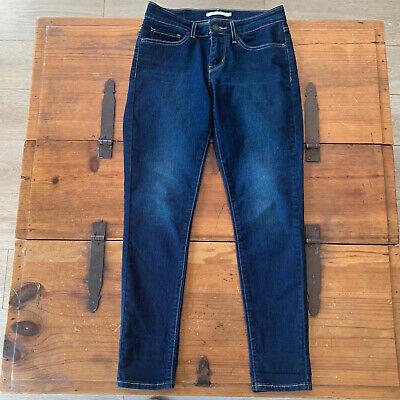 Levi's Women's Black 711 Skinny Jeans Size 27