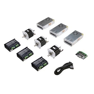 Lowest Price3axis Nema34 Stepper Motor With 878oz-in Dualdriver Dm860a Cnc