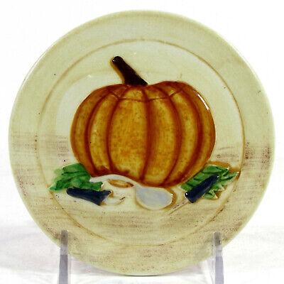 "MWW Market HOW TO CARVE A PUMPKIN - TOOLS 4.5"" Mini Plate Halloween Jack Lantern"