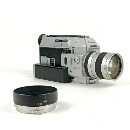 N-Mint  Canon 814 Auto Zoom Super 8 Camera - Tested & Working
