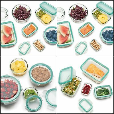 OXO Good Grips Smart Seal Leakproof Glass Round Food Storage